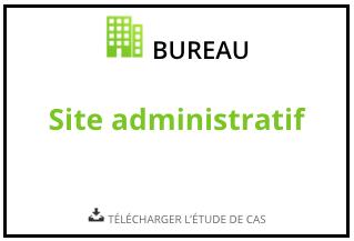 Télécharger l'étude de cas Site administratif