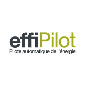 Logo effiPilot, Pilote automatique de l'énergie